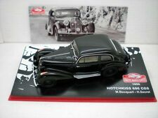 COCHE HOTCHKISS 686 CGS 1950 RALLY MONTECARLO BECQUART SECRET  IXO CAR RALLIE