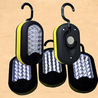 3 pack Magnet Emergency Car 27 LED Inspection Work Light Lamp Torch /w Hook