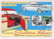 Sunbeam Rapier IIIA 1961 Large Format MODERN postcard by Jenna