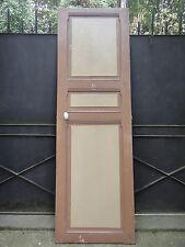 208 X 66,5 cm - Ancienne porte intérieur en bois
