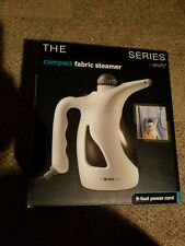 COMPACT FABRIC STEAMER BY SHIFT3 THE BLACK SERIES 8 FT POWER CORD