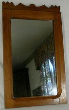 Vintage Arts and Craft mirror Mahogany Cherry