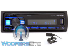ALPINE UTE-73BT BLUETOOTH MP3 USB IPOD WMA AUX IPHONE EQUALIZER CAR STEREO NEW
