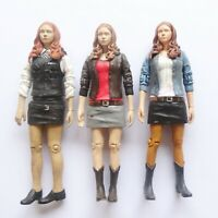 """LOT OF 3 Doctor Dr Who  AMY POND police Action figure old 5.5"""""""