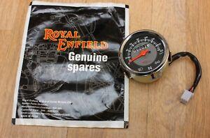 Royal Enfield Bullet Classic 160 KMH Speedometer Genuine Part #147770/D