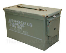 50 CAL AMMO CAN M2A1 Steel USGI Military Surplus FAIR Cond