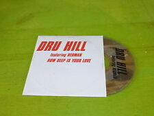 DRU HILL - REDMAN - HOW DEEP !!!RAP OLD SCHOOL !!!!!!RARE CD PROMO FRANCE!!!!!!