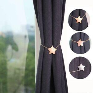 1Pcs Tieback Buckle Holder Metal Curtain Straps Home Decorative Accessories  Cur