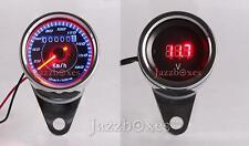 LED Speedometer + Digital Voltmeter For Yamaha Road Star Silverado Midnight XV
