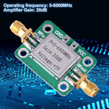 5MHz-6GHz RF Broadband Signal Amplifier Power Amplifier Gain 20dB VFH UHF SHF