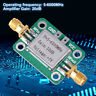 5MHz~6GHz RF Broadband Signal Amplifier Power Amplifier Gain 20dB VFH UHF SHF