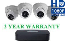 FLIR LOREX PoE Surveillance Security Camera System 1080P NVR 1TB DVR IP Cameras