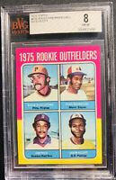 1975 Topps Mini Jim Rice #616 Baseball Card Bvg 8 Psa Crossover?