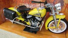 NewRay 1948 Indian Motorcycle Yellow 1:6 Scale Die Cast Cruiser in original box
