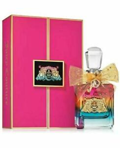 NEW Juicy Couture Viva La Juicy Pure Perfume LE Rainbow Bottle 3.4 fl oz
