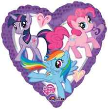 "My Little Pony Purple Heart Birthday Party Decoration 32"" Shaped Mylar Balloon"