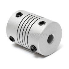 New 5x10mm CNC Motor 3D PrinterJaw Shaft Coupler 5mm-10mm Flexible Coupling
