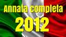 2012  ANNATA COMPLETA N° 85 TESSERE FILATELICHE INTROVABILI