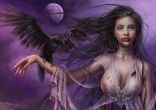 Moonlight Cry - 1000 piece puzzle / Gothic, Dark Fantasy