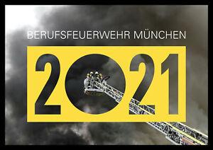 Kalender 2021 Berufsfeuerwehr München Feuerwehr Bildkalender
