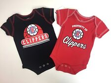 2 LA Clippers NBA Creepers 0-3 Mos Basketball One-Piece