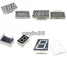 7 Segment 0.56/1.8/0.36 /0.5inch 1/3/4 Digit Common Cathode/Anode Led Display UK