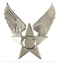 GENUINE U.S. AIR FORCE USAF CAP DEVICE: HONOR GUARD HAT EMBLEM - ENLISTED