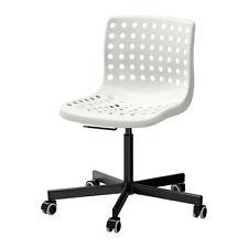 IKEA SKÅLBERG / SPORREN Sedia da ufficio, nero bianco