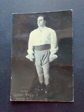 """Autografo e fotografia - Gianni Poggi - Tenore - Cavaradossi in """"Tosca"""" - 1961"""