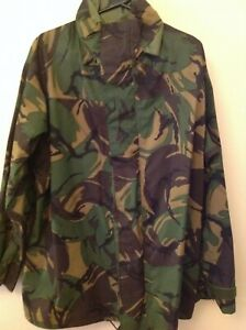 """Waterproof and breathable """"goretex"""" DPM Woodland Camouflage Jackets CS95 issue"""