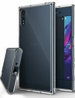 Sony Xperia XZ/XZs Clear Case [Ringke Fusion] Shockproof Protective Cover