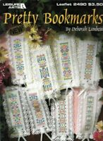 Pretty Bookmarks for Cross Stitch Leisure Arts 2490 1993 Great Gifts