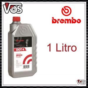 Olio freni DOT 4 Brembo per auto e moto da 1 Litro L04010