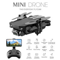 LS Mini WiFi FPV Drone 4K HD Camera VR Selfie Drone Foldable Quadcopter Aircraft