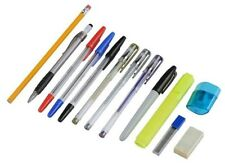 13PC BACK TO SCHOOL STATIONARY SET ESSENTIAL OFFICE SUPPLIES KIDS PENS PENCILS W