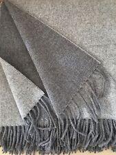laine COUVERTURE double-face avec cachemire Part,canapé-couverture 140x165 cm