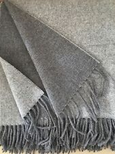 Lana Cuadros Doble Cara con cachemir CUOTA , cubierta SOFA 140x165 cm 100% Lana