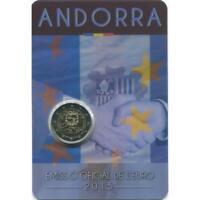 Andorra 2015 Signature Dell'Accord Douanes avec L'Union Europeenne