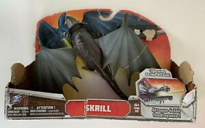 How to Train Your Dragon Skrill Lightning Attack Action Figure ** Damaged Jaw **