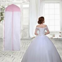 Breathable Garment Storage Bag Gown Bridal Wedding Dress Dust Proof Cover Large