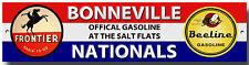 Bonneville Salt Flats nacionales Letrero De Metal, garaje, taller, velocidad de la semana.