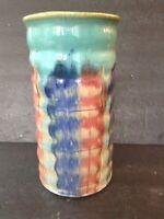 Antique Hull Pottery Early Art Glazed Stoneware Vase