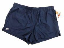 Vintage Speedo Lined Swim Shorts - Dark Blue - Xl