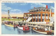1942 Little Egg Harbor Yacht Club Beach Haven NJ post card