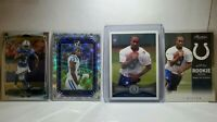 🔥 2012 Topps TY Hilton Rookie #14 (8) Card Lot Inserts Chrome Optic Colts