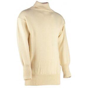 New 100% British Wool Submariners / Fishermans Roll Neck Sweater / Jumper #12632