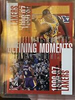 Kobe Bryant Shaq 1998-99 Defining Moments Upperdeck #343 Los Angeles Lakers