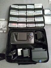 Sega Game Gear Console 14 Games lot streets of rage + Capacitors Changed