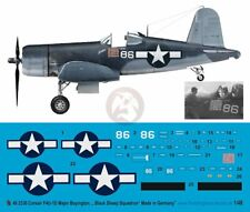 Peddinghaus 1/48 F4U-1A Corsair Markings Gregory Boyington Black Sheep Sq. 2330