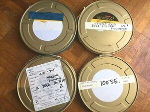 Fujifilm super 16mm Motion Picture Film, recan, various types, 455 feet, Rare